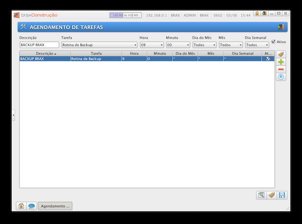 Ferramenta de Agendamento Automático de Backup (Cópia de Segurança)
